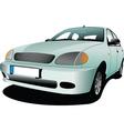 Motor car vector