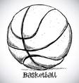Basketball design vector