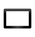 Tablet pc on white background vector