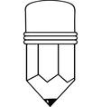 Cartoon pencil vector