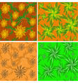 Flower ornaments vector