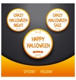 Spooky halloween holiday vector