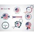 Made in usa - set of seals badges vector