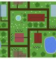 Seamless plan of town vector