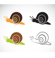 Image of an snail vector