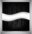 Abstract dark wood background vector