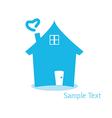 Home logo for concept money vector