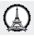 Paris city vector