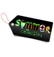 Shopping tag vector
