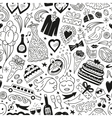 Wedding - seamless pattern vector