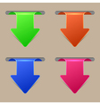 Arrow banners vector