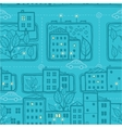 City streets seamless pattern background vector