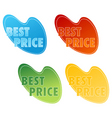 Best price tags vector
