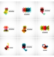 Company logo branding elements vector