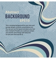 Abstract retro background with stripes vector