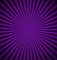 Purple radial rays abstract background vector