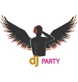 Dj party vector