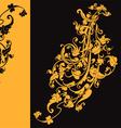 Artistic swirls vector