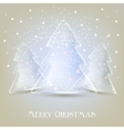 Elegant christmas tree background vector