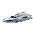 Speed yacht vector