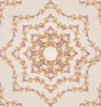 Flower pattern henna vector