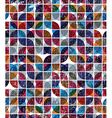 Old scratched and spotted mosaic seamless vector