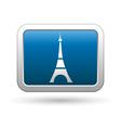 Eiffel tower icon vector
