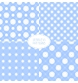 Set of seamless floral patterns  beautiful vector