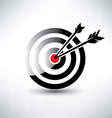 Target symbol business icon concept vector