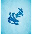 Skates background vector