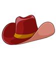A cowboys hat vector