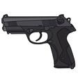 Handgun vector