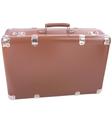 World traveler suitcase vector