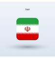 Iran flag icon vector