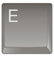 Standard keyboard key vector