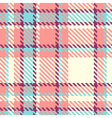Seamless plaid fabric vector