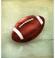 American football old-style vector