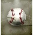 Baseball old-style vector