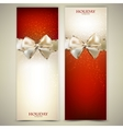 Elegant greeting cards vector