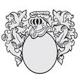 Aristocratic emblem no2 vector