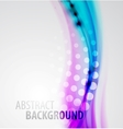 Abstract blur waves background vector