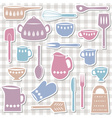 Kitchen utensils sticks vector
