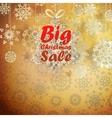 Christmas retro big sale with copy space vector