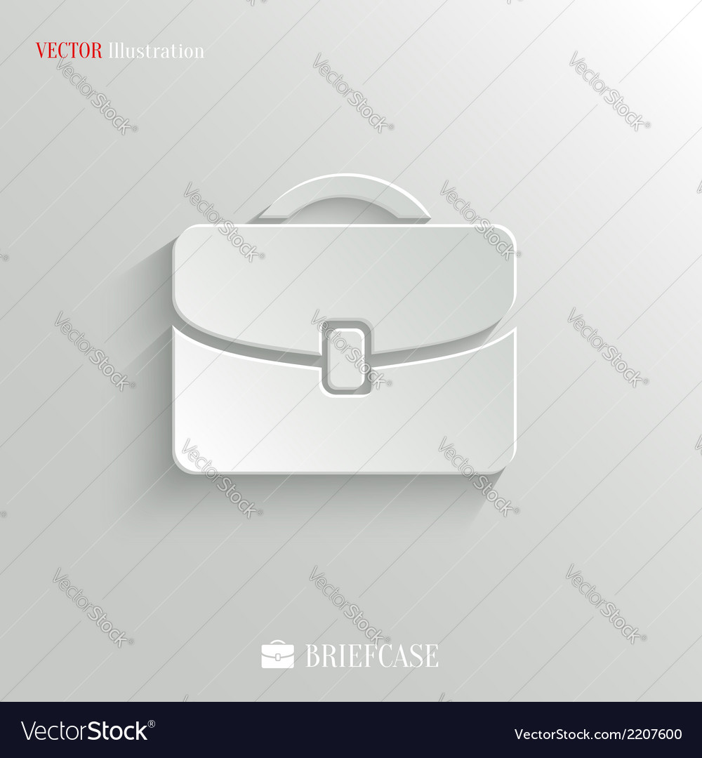 Briefcase icon - web background vector | Price: 1 Credit (USD $1)