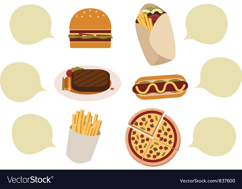 Food vector | Price: 3 Credit (USD $3)