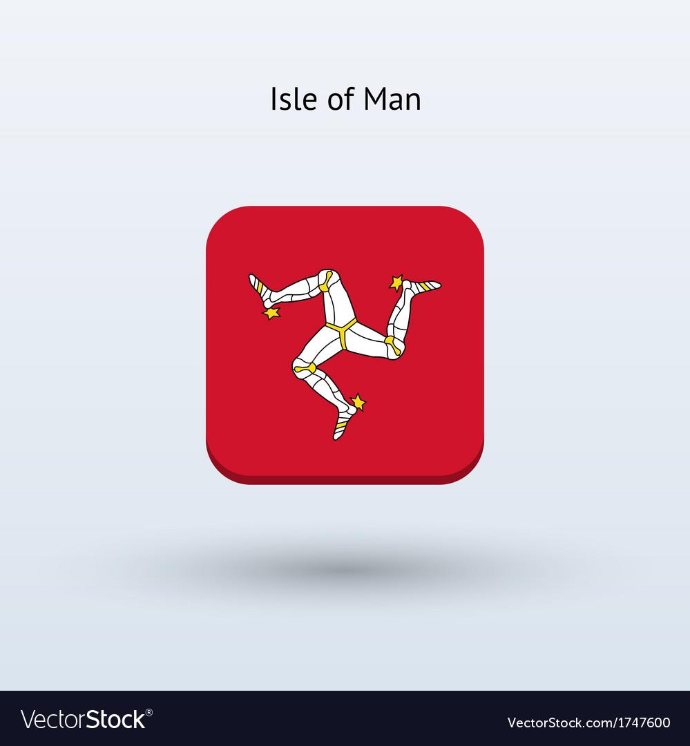 Isle of man flag icon vector | Price: 1 Credit (USD $1)