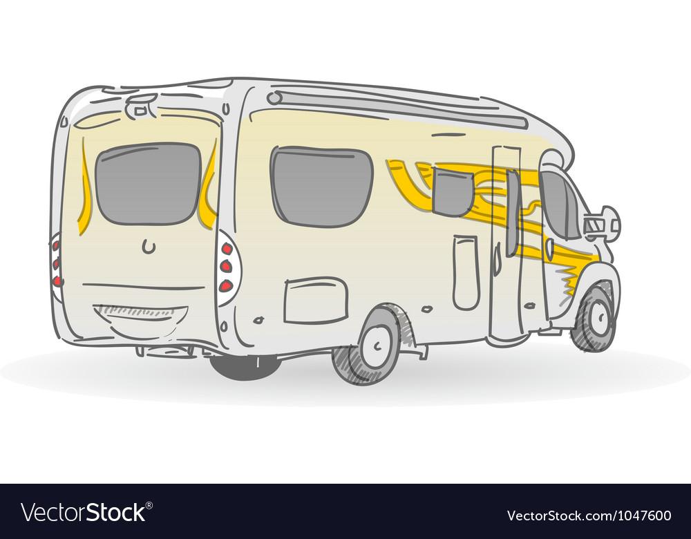 Recreational vehicle vector | Price: 1 Credit (USD $1)