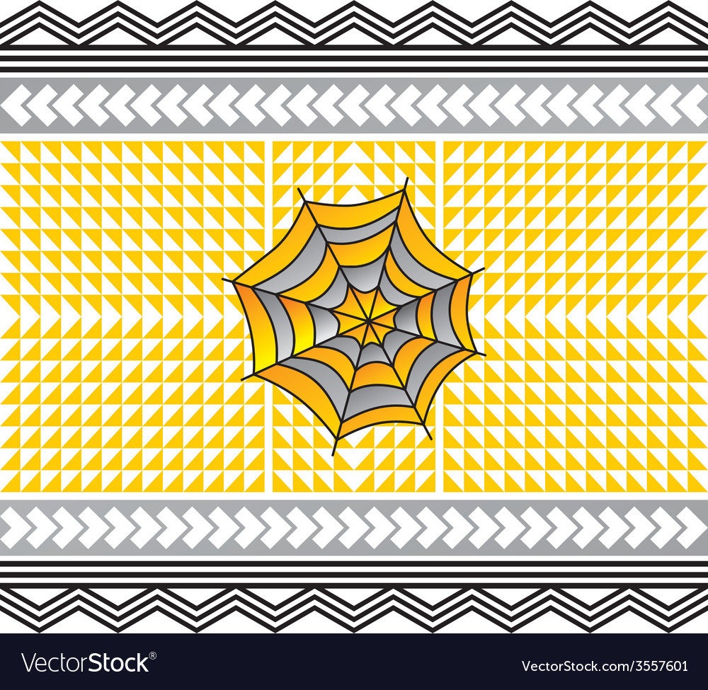 Color spiderweb art vector | Price: 1 Credit (USD $1)