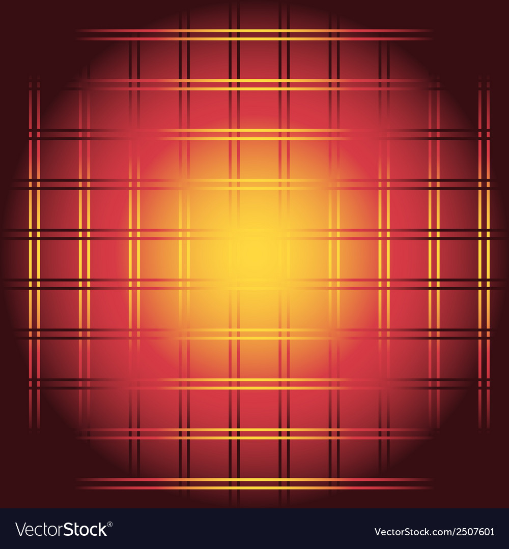 Red and yellow chessboard or checkerboard backgrou vector | Price: 1 Credit (USD $1)