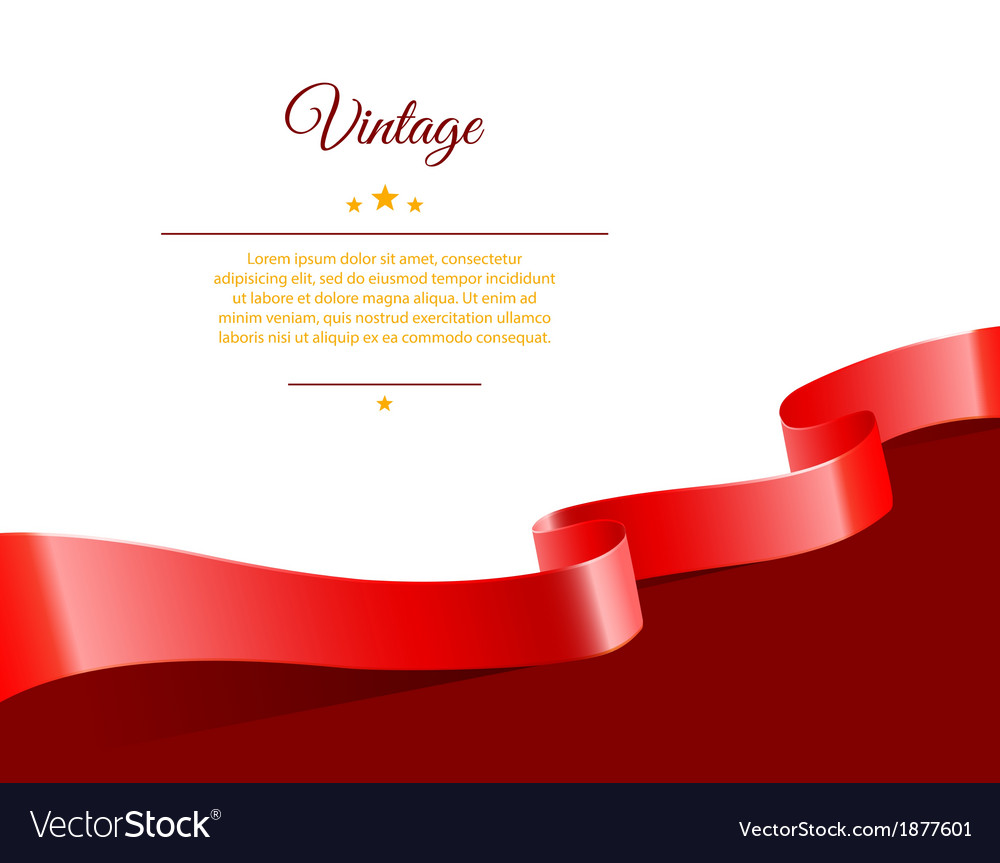 Vintage template vector | Price: 1 Credit (USD $1)